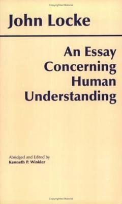 An Essay Concerning Human Understanding By Locke, John/ Wrinkler, Kenneth P. (EDT)